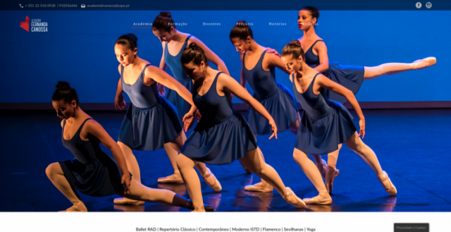 Cooper | Academia Fernanda Canossa | Website