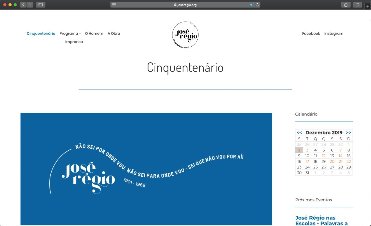 Site José Régio